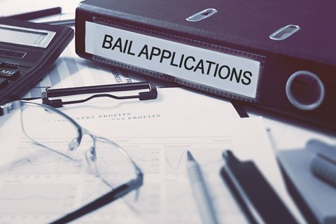 What's happening with bail applications during COVID-19?